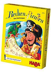 HABA 4715 Kartenspiel Rechen-Piraten