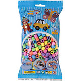 HAMA 8471 maxi-Perlen, 500 Stück, Pastell-Mix