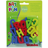 Art & Fun Magnetic Letters, large