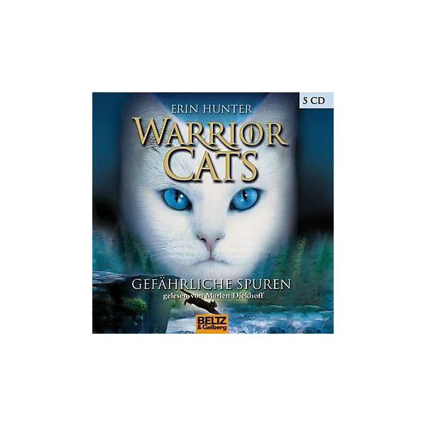 Warrior Cats: Gefährliche Spuren, 4 Audio-CDs