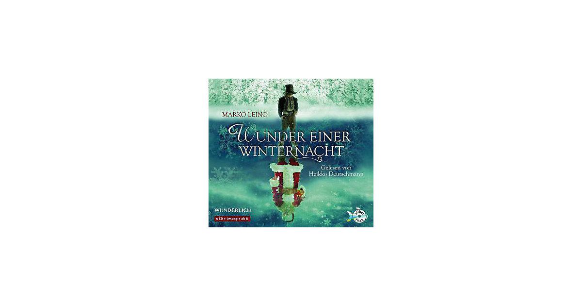 Wunder einer Winternacht, 4 Audio-CDs Hörbuch