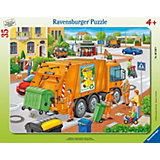 Frame Jigsaw - 35 Pieces - Refuse Collection