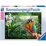 Jigsaw Puzzle, 1,000 Pieces, Parrots in the Jungle