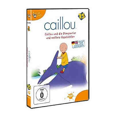 DVD Caillou 15: Caillou und die Dinosaurier