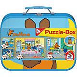 Puzzlekoffer 2 x 26 und 2 x 48 Teile Die Maus