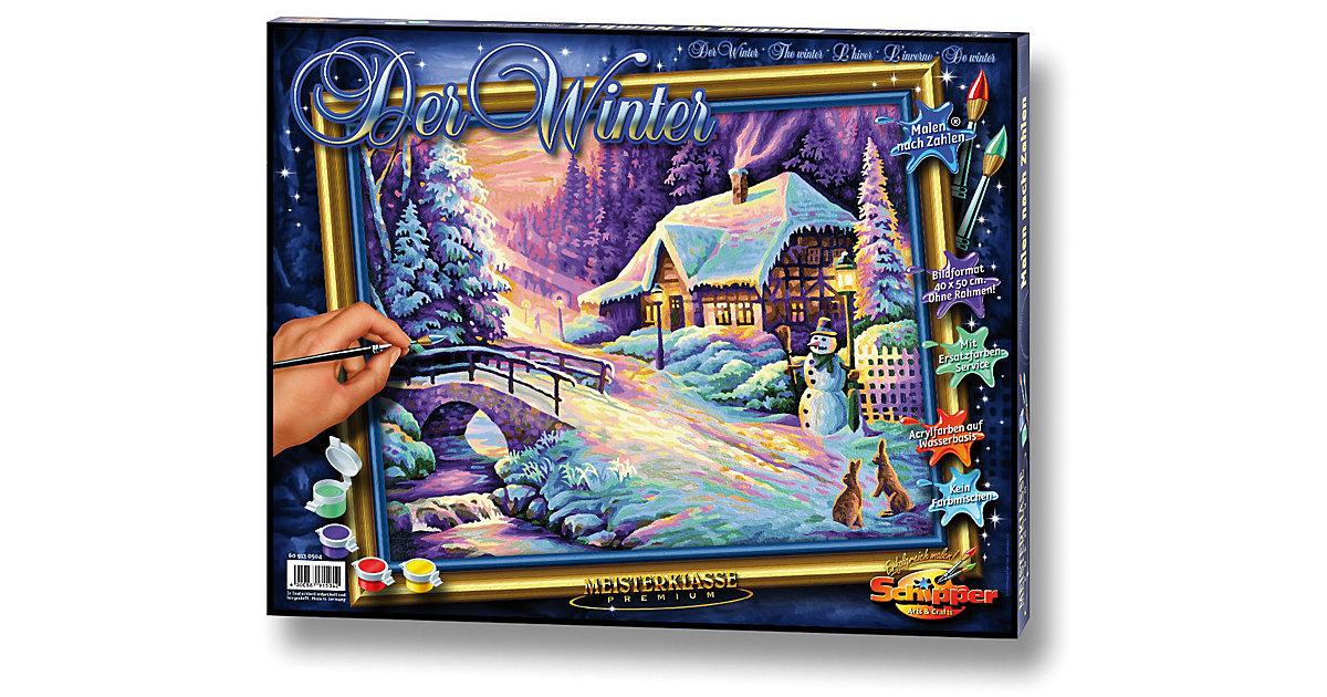 , Malen nach Zahlen - Der Winter