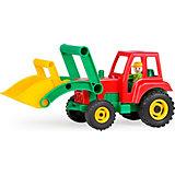Aktive Traktor mit Frontschaufel, 35 cm