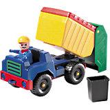 Kleine Robuste: Müllwagen, 20 x 15 cm