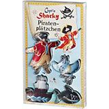 Ausstecher Capt'n Sharky, 4-tlg.