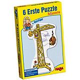 HABA 6 Erste Puzzle - Baustelle