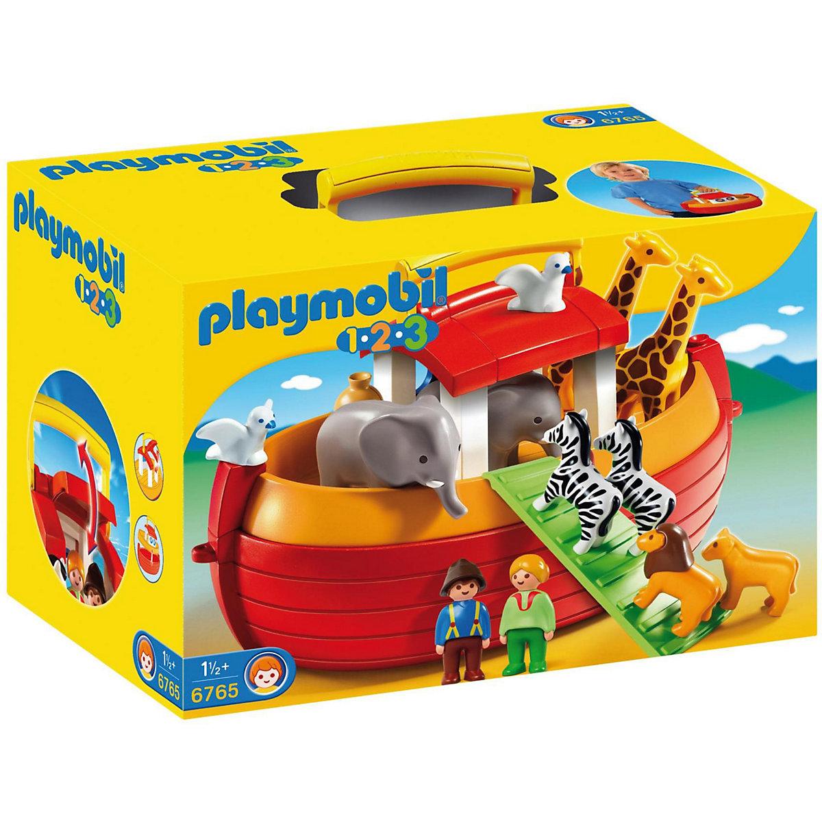 playmobil 6765 1 2 3 meine mitnehm arche noah playmobil. Black Bedroom Furniture Sets. Home Design Ideas