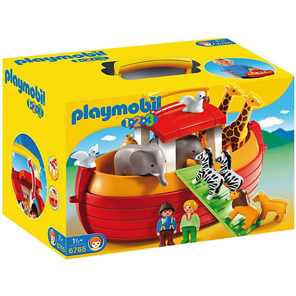 playmobil 6765 1 2 3 meine mitnehm arche noah playmobil 1 2 3 mytoys. Black Bedroom Furniture Sets. Home Design Ideas