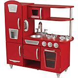 Küche Retro, rot