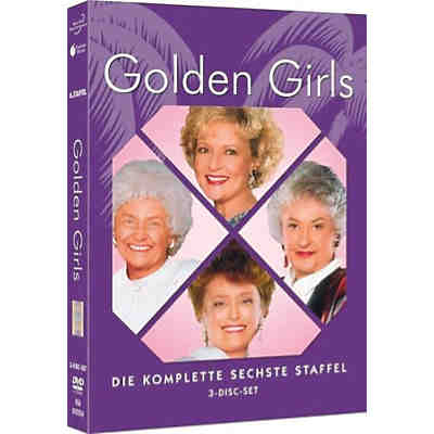 DVD The Golden Girls - Season 6