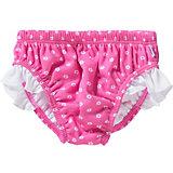 FASHY Baby Windel-Badehose für Mädchen, pink