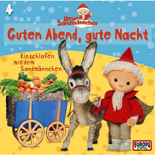 CD Unser Sandmännchen 4 - Guten Abend, gute Nacht Hörbuch