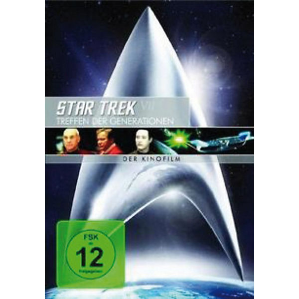 DVD Star Trek VII - Treffen der Generationen - Remast.
