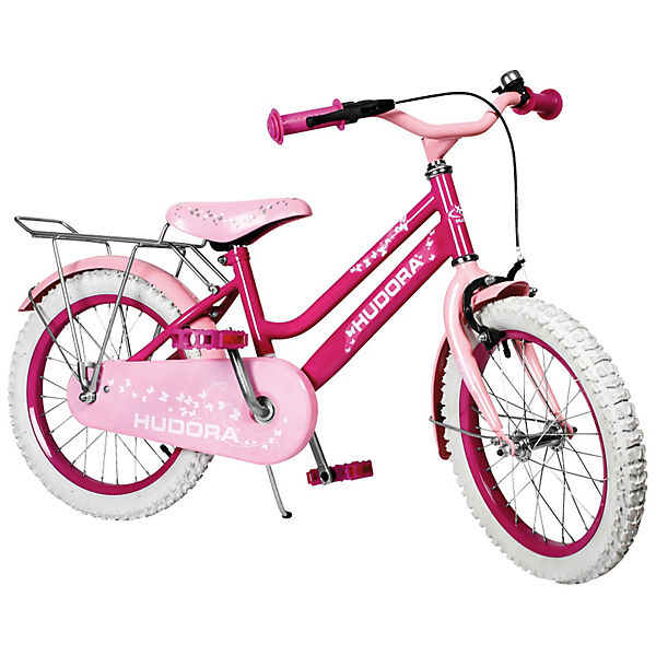kinderfahrrad 16 zoll rosa hudora mytoys. Black Bedroom Furniture Sets. Home Design Ideas