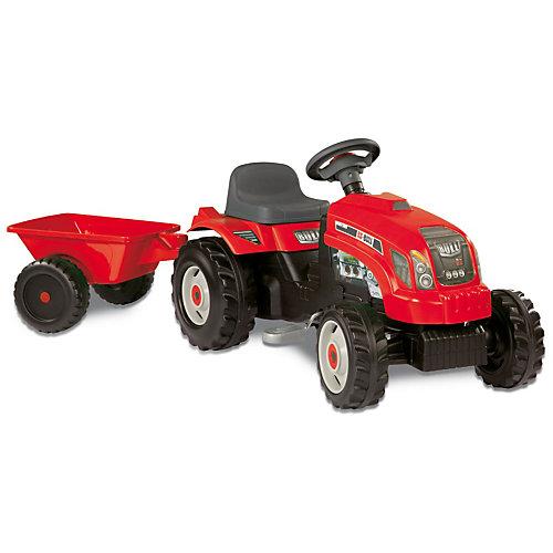Smoby Traktor GM mit Anhänger
