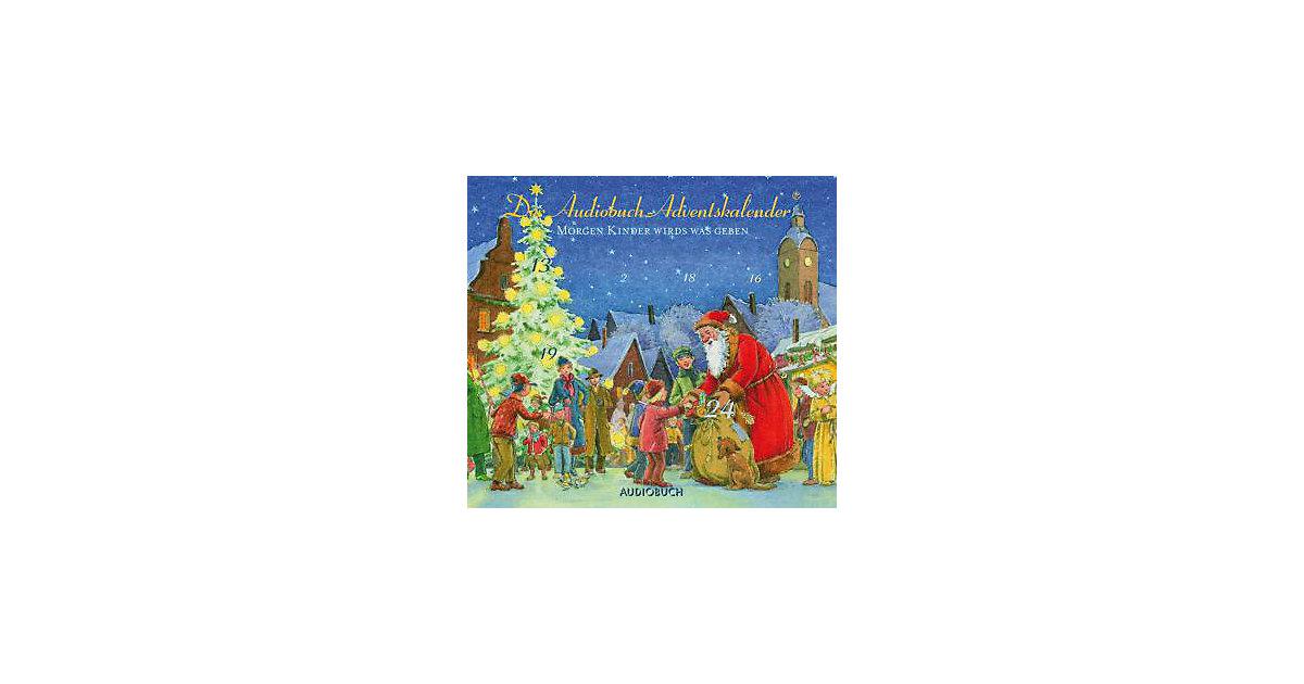 Morgen Kinder wird´s was geben, 1 Audio-CD Hörbuch