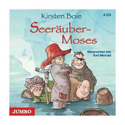 Seeräuber-Moses, 4 Audio-CDs