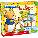 Leo Lausemaus, Einsteiger-Box, 3 Audio-CDs