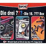 Die drei Fragezeichen, Die 18. Box, Folge 52-54, 3 Audio-CDs