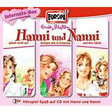 CD Hanni und Nanni, Internats-Box, 3 Audio-CDs