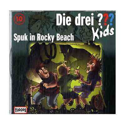 Die drei ??? Kids: Spuk in Rocky Beach, Audio-CD