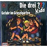 Die drei ??? Kids: Gefahr im Gruselgarten, 1 Audio-CD