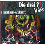Die drei ??? Kids: Flucht in die Zukunft, 1 Audio-CD