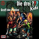 Die drei ??? Kids: Gruft der Piraten, 1 Audio-CD