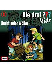 Die drei ??? Kids: Nacht unter Wölfen, 1 Audio-CD