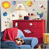 Outer Space Wall Stickers, 35-piece