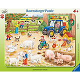 Frame Jigsaw - 40 Pieces - On a Big Farm