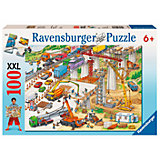 XXL Jigsaw - 100 Pieces - Huge Building Site