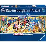 Panoramapuzzle 1000 Teile Disney Gruppenfoto