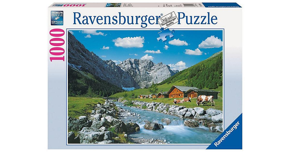 Puzzle 1000 Teile Österreichische Berge