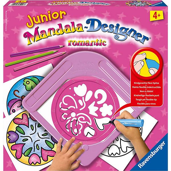 Junior Mandala Designer® romantic