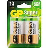 Batterien 2er Blister (D, Mono, LR 20, AM-1, UM-1)