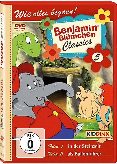 DVD Benjamin Blümchen Classic 05 als Ballonfahrer/ in der Steinzeit