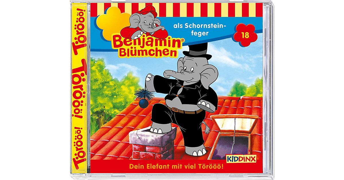 CD Benjamin Blümchen 18 - als Schornsteinfeger Hörbuch