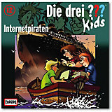 CD Die drei ??? Kids 12 -Internetpiraten