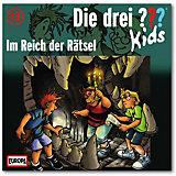 CD Die drei ??? Kids 13 - Im Reich der Rätsel