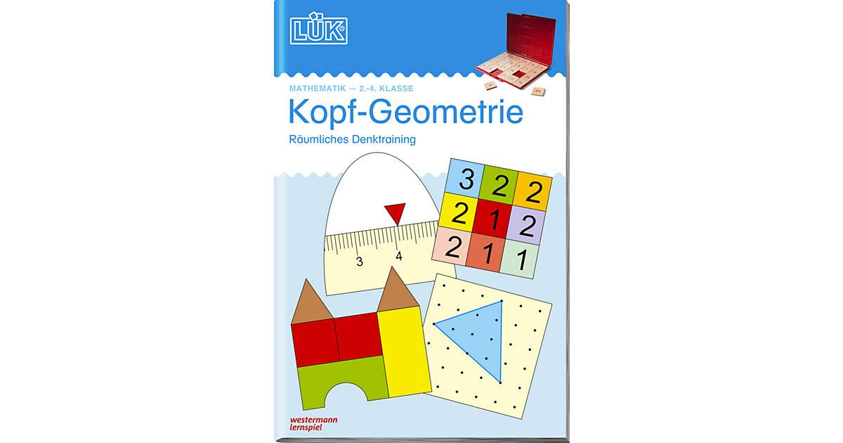 Buch - LÜK: Kopf-Geometrie, Übungsheft