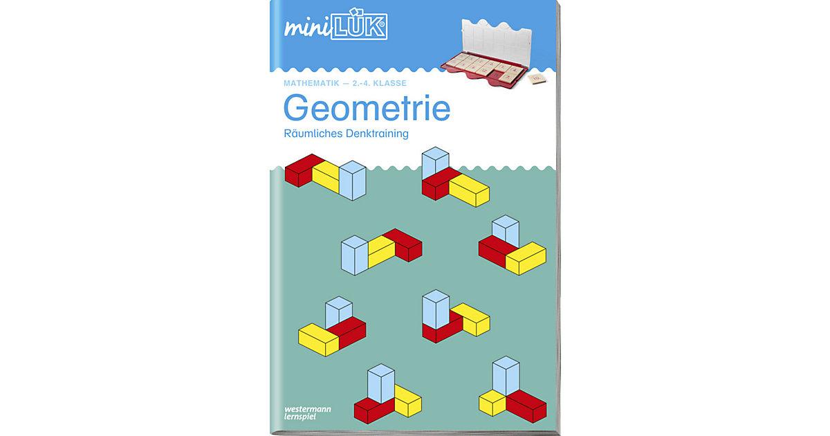 Buch - mini LÜK: Geometrie, Übungsheft