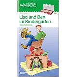 mini LÜK: Lisa und Ben im Kindergarten, Übungsheft