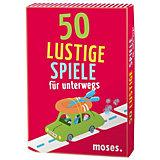 50 lustige Spiele für unterwegs, Kartenset