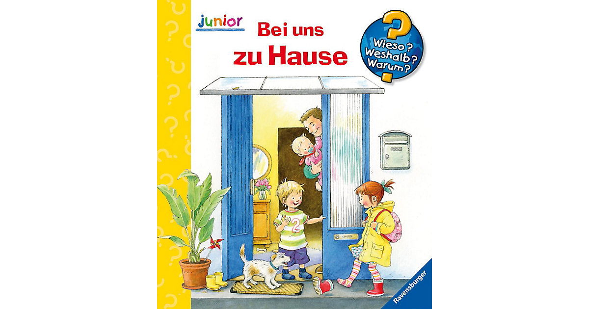 Buch - WWW junior Bei uns zu Hause