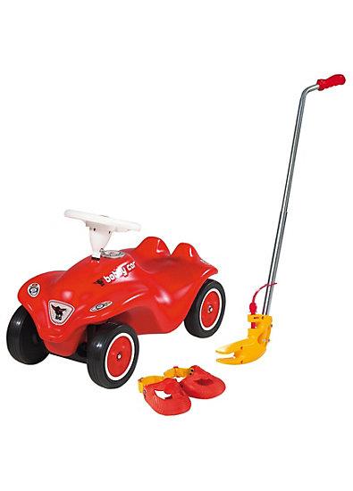 BIG NEW Bobby Car inkl. Schubstange und Schuhschützer